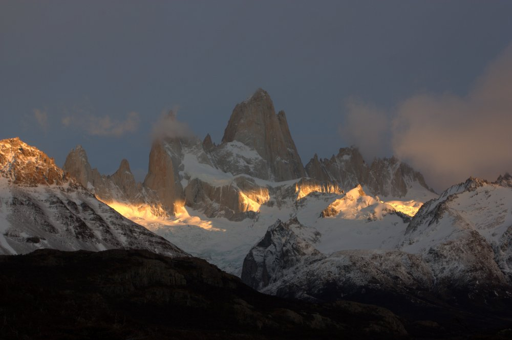 Cerro Fitz Roy at sunrise